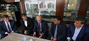 Eski Bakan Bayraktar referandum çalışmalarına destek veriyor