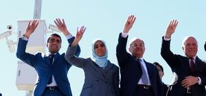 Bakan Akdağ ve Başkan Sekmen'den Tekman'a referandum çıkarması