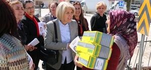 CHP Kadın Kolları Hekimhan'da 'hayır' çalışması yaptı