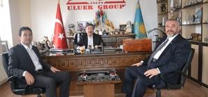 TÜRKSOY genel sekreteri Dusen Kaseinov, Uluer'i ziyaret etti
