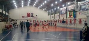 Simav'da voleybol turnuvası