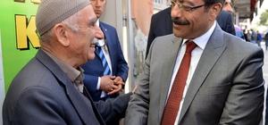 Başkan Atilla Bismil'de vatandaşlarla bir araya geldi