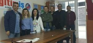 Eğitim-İş Aliağa Temsilcisi Mustafa Gök yeniden seçildi
