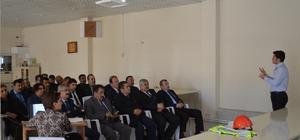 Belediye personeline 'iş sağlığı ve güvenliği' eğitimi
