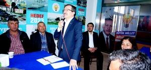 AK Parti'li Aydemir Sarıgöl'de 'evet'i anlattı
