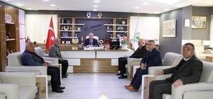 Şehit Aileleri Derneği'nden Başkan Şahiner'e teşekkür ziyareti