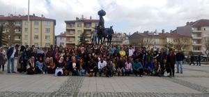 67 ülkeden 150 öğrenci Akşehir'i gezdi