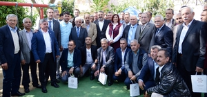 Başkan Çerçioğlu, İncirliova'da muhtarlara müjdeler verdi