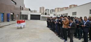 Mardin'de trafik kazasında hayatını kaybeden polisler için tören