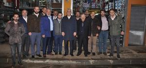 AK Parti Trabzon Milletvekilleri Günnar ve Köseoğlu referandum çalışmalarını sürdürdü