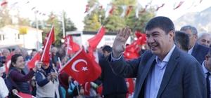 """Başkan Türel: """"Halktan niye korkuyorsunuz"""""""