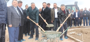 İnönü'de temel atma töreni