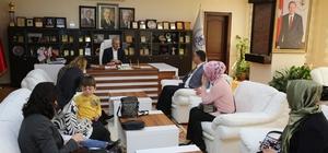 Camili Özel Eğitim Anaokulu'ndan Başkan Dişli'ye ziyaret