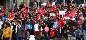 """TÜGVA'dan """"Türkiye için evet"""" yürüyüşü"""