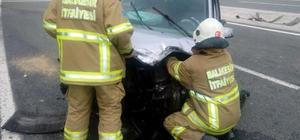Havran'da kaza: 1 yaralı