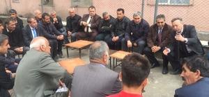 CHP heyetinden Çukurca'ya ziyaret