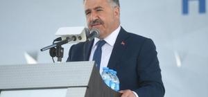 Bakan Arslan'dan Kağızman'a doğalgaz müjdesi