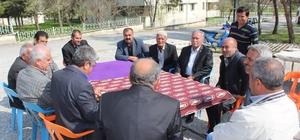 Samsat ilçesinde referandum çalışmaları devam ediyor