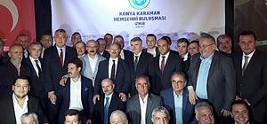 Konya-Karaman Hemşehri Buluşması İzmir'de yapıldı