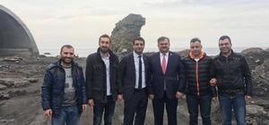 Çaturoğlu Zonguldak'ı ilçe ilçe gezip destek istiyor