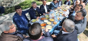 Çaltepe'de 4 bin kişilik hayır yemeği