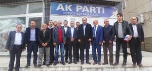 Milletvekili Balta, Ortahisar ve Düzköy ilçelerinde referandum çalışmalarını sürdürdü