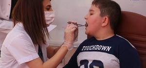 'Coda' çocuklarına yönelik diş taraması