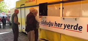 Ceyhan'a PTT Mobil Şube