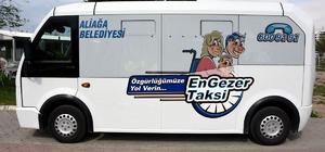 Engezer Taksi Aliağa'da engel tanımıyor