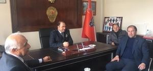 Azizoğlu ve Vural'dan İlçe Emniyete Polis Günü ziyareti