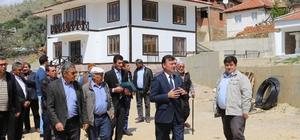 Başkan Akın, mahalle ziyaretlerini sürdürüyor