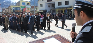 Sason'da Polis Teşkilatı'nın 172'nci Kuruluş Yıldönümü kutlandı