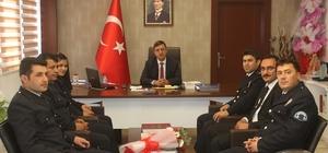 İlçe Emniyet Amirliği'nden Kaymakam Ersöz'e 10 Nisan Ziyareti