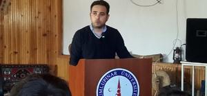 Milletvekili İshak Gazel, Gençlere Cumhurbaşkanlığı sistemini anlattı
