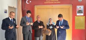"""""""Şehit Niyazi Ergüven Konferans Salonu"""" açıldı"""