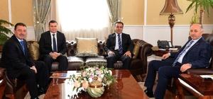 Erzurum'da hayırsever iş adamı Hüsamettin Yavuz tarafından yaptırılacak okulun protokolü imzalandı