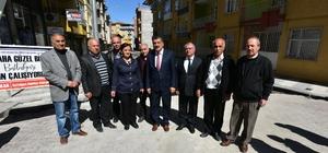 Başkan Gürkan Ataköy Mahallesinde sürdürülen çalışmaları yerinde inceledi