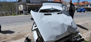 Kütahya'da tır ile otomobil çarpıştı: 1 yaralı