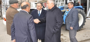 Vekil Dedeoğlu ve Başkan Cabbar'dan Sanayi esnafına ziyaret