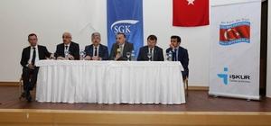 Edremit'te Milli İstihdam Seferberliği toplantısı yapıldı