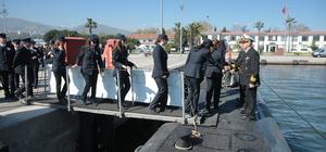 Donanma Komutanlığı kapılarını polis teşkilatına açtı