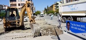 Aliağa'daki Avcı Ramadan Bölgesinde asfalt hamlesi