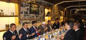 Başkan Tutal, polislerle yemekte bir araya geldi
