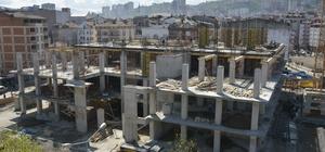 Fatsa Belediyesi yeni hizmet binası yükseliyor