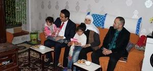 Kaymakam Dundar'dan şehit ve gazi ailelerine ziyaret