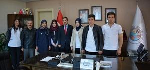 Başkan Eser, Sağlık Lisesi öğrencileriyle bir araya geldi