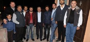 Başkan Baran Körfez Romanlar Derneği Başkanını ziyaret etti