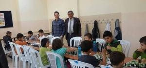 Şaphane'de satranç turnuvası