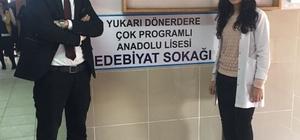 Özalp ilçesinde 'Edebiyat Sokağı' açıldı
