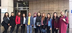 Karaisalı Mesleki ve Teknik Anadolu Lisesi öğrencileri Viyana'ya gitti